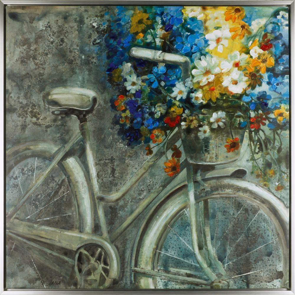 Art Maison Canada the Cycle VI, Contemporary Floral Art, Acrylic on Canvas Art