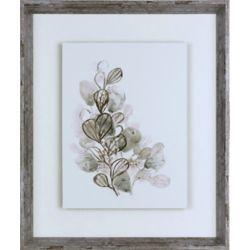 Art Maison Canada Neutral Botany II, Framed Laminated Paper Print Wall Art