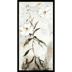Art Maison Canada Fleurs XX, Art Floral, acrylique sur toile Art