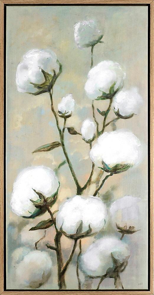 the Flowers XIX, Floral Art, Acrylic on Canvas Art