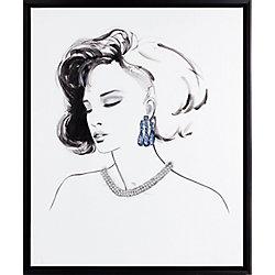 Art Maison Canada Elegance III, Portrait Art, Canvas Print, Art