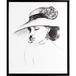 Art Maison Canada Elegance II, Portrait Art, Canvas Print, Art