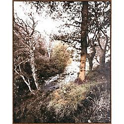 Art Maison Canada River Reflection, Landscape Paper Print Wall Art