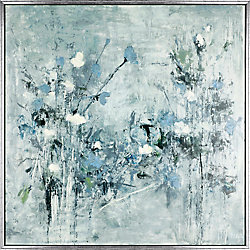 Art Maison Canada Floral Fantasy, Abstract Art, Acrylic on Canvas Art