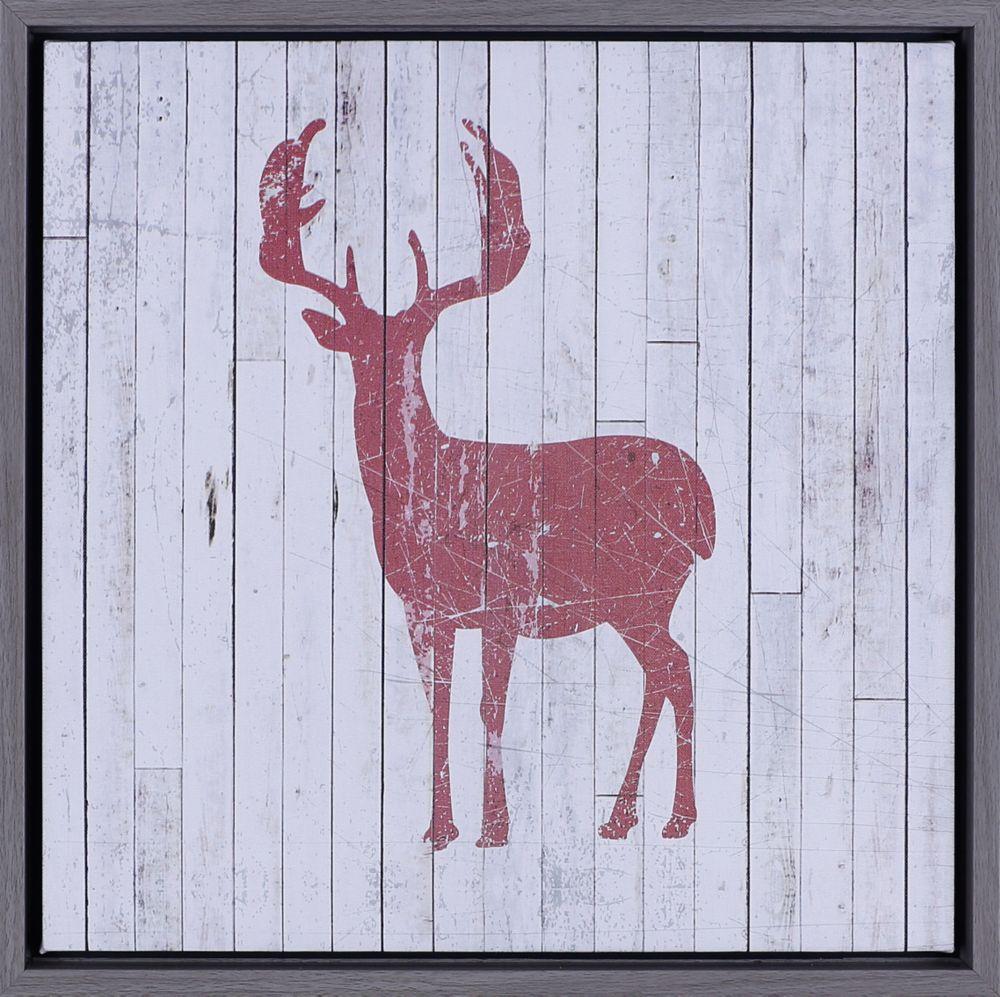 Art Maison Canada Red Deer I, Natural Art, Canvas Print, Art