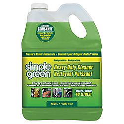Simple Green Heavy Duty Pressure Washer Detergent