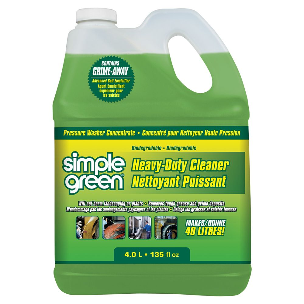 Simple Green Simple Green Heavy Duty Pressure Washer Detergent