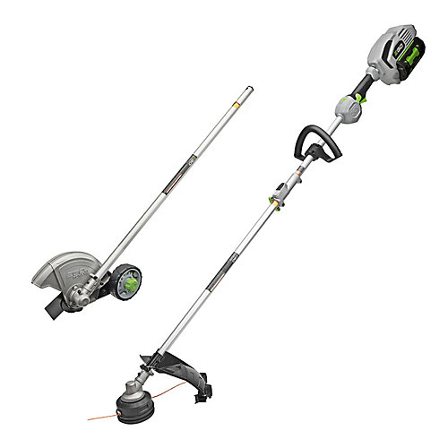 15-inch 56V Li-Ion Cordless String Trimmer+Edger Combo Kit with 5.0Ah Battery and Charger