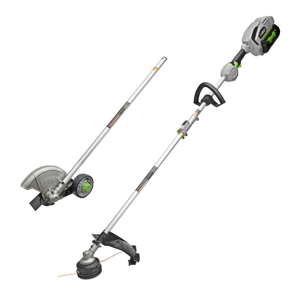 EGO 15-inch 56V Li-Ion Cordless String Trimmer+Edger Combo Kit with 5.0Ah Battery and Charger