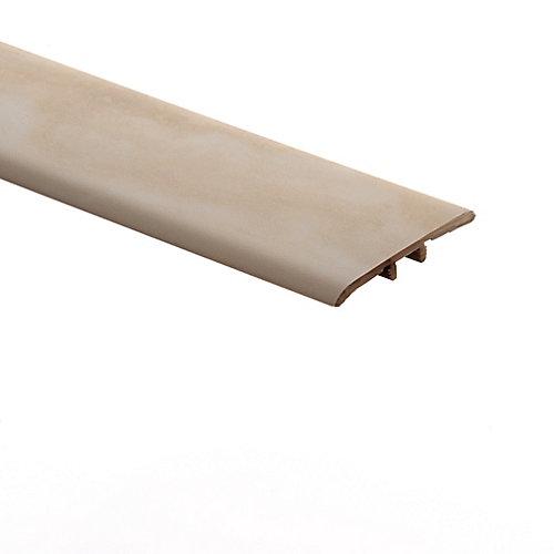 Gypsum Rock 1/3-inch Thick x 1 3/4-inch Wide x 72-inch Length Vinyl T-Molding