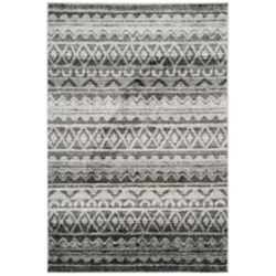 Safavieh Adirondack Caleb Ivory / Charcoal 5 ft. 1-inch x 7 ft. 6-inch Indoor Area Rug
