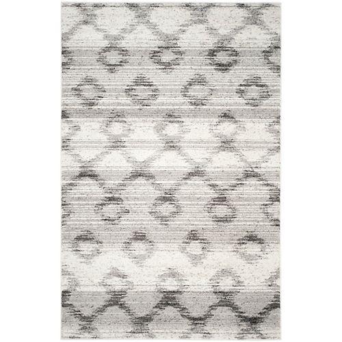 Safavieh Adirondack Isabel Silver / Charcoal 6 ft. x 9 ft. Indoor Area Rug