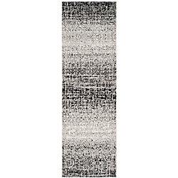 Safavieh Adirondack Janice Silver / Black 2 ft. 6-inch x 6 ft. Indoor Runner