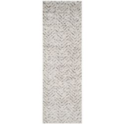 Safavieh Adirondack Kevin Ivory / Charcoal 2 ft. 6-inch x 12 ft. Indoor Runner