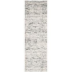 Safavieh Adirondack Leonard Ivory / Silver 2 ft. 6-inch x 8 ft. Indoor Runner