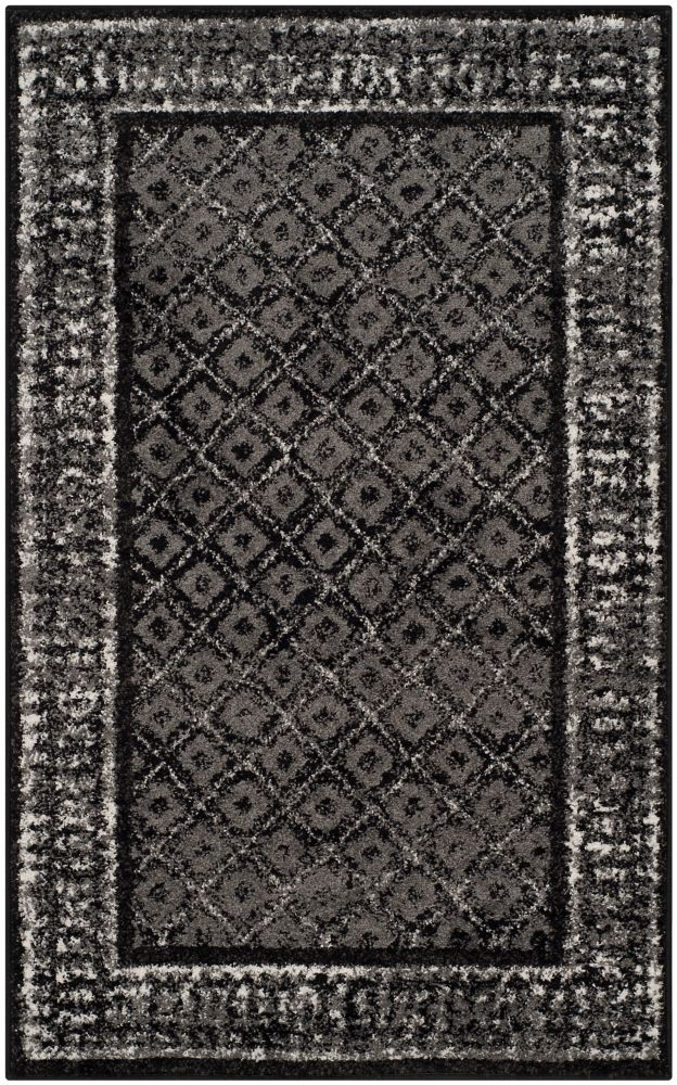 Safavieh Adirondack Luther Black / Silver 3 ft. x 5 ft. Indoor Area Rug