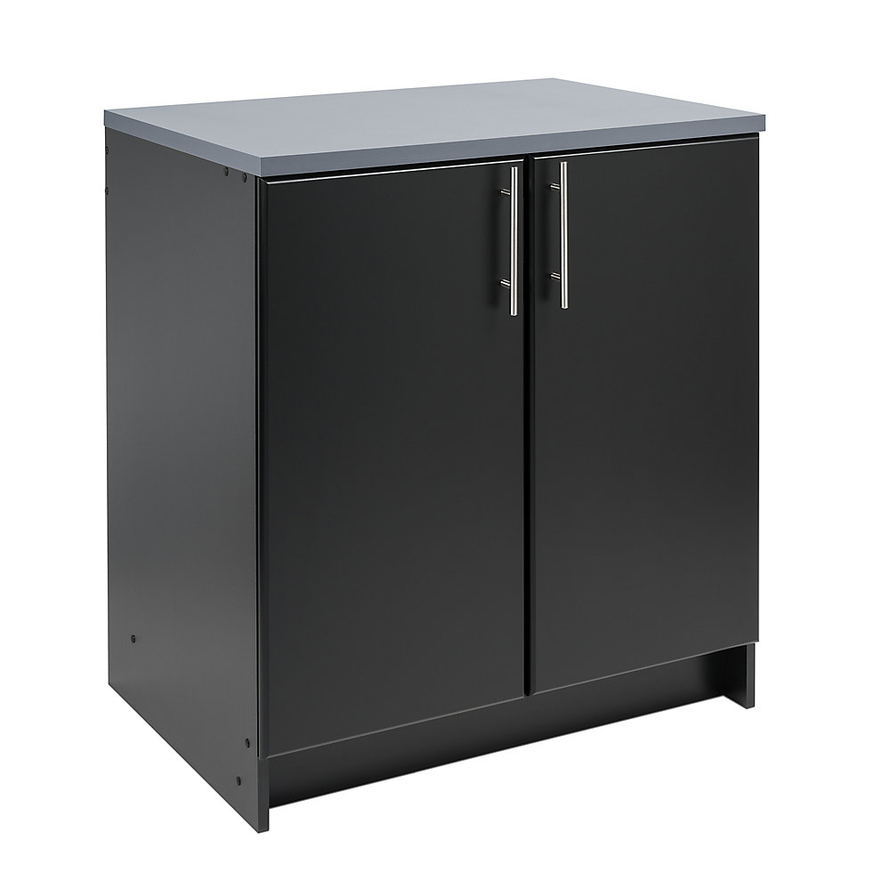 Elite 32-inch Base Cabinet in Black