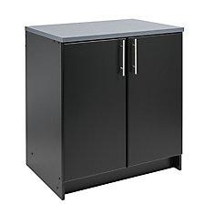 Elite 32-inch Base Cabinet in Black