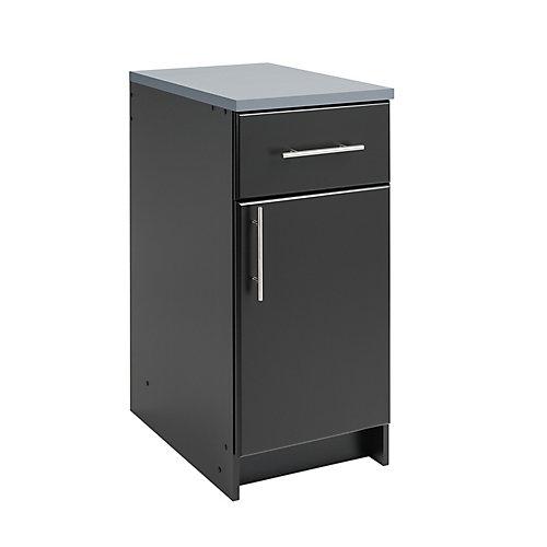 Elite 16-inch Base Cabinet in Black