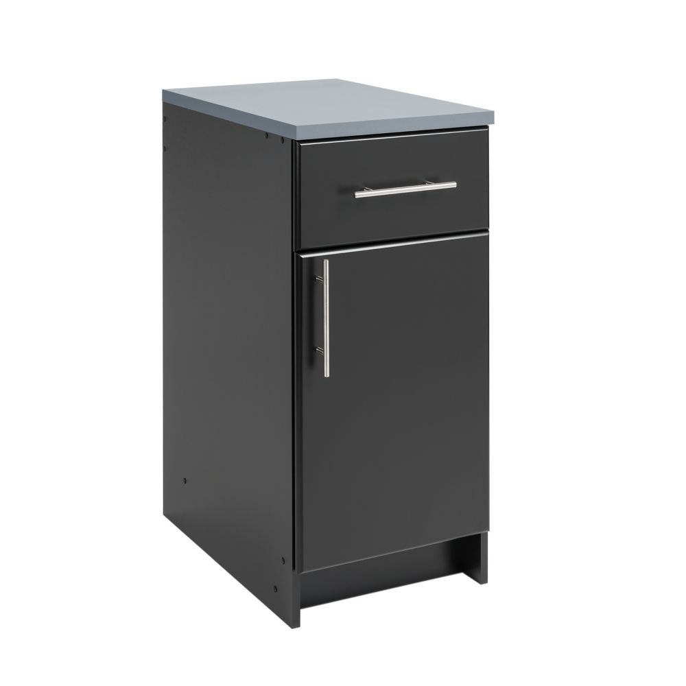 Prepac Elite 16-inch Base Cabinet - Black