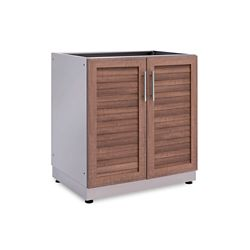 NewAge Products Inc. Outdoor Kitchen Grove  32.0 inch W x  36.5 inch H x 23.0 inch D  2-Door Cabinet