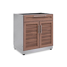Outdoor Kitchen Grove  32.0 inch W x  36.5 inch H x 24.0 inch D  Bar Cabinet
