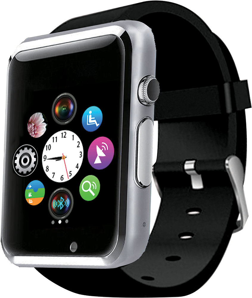 e9df97a9ee4a Hype Bluetooth Smart Watch With Camera | The Home Depot Canada