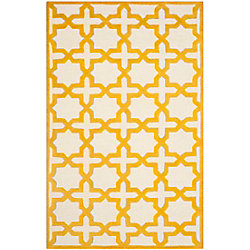Safavieh Cambridge Bernadette Ivory / Gold 5 ft. x 8 ft. Indoor Area Rug