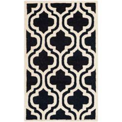 Safavieh Cambridge Brenton Black / Ivory 2 ft. 6-inch x 4 ft. Indoor Area Rug
