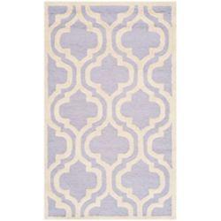 Safavieh Cambridge Brenton Lavender / Ivory 3 ft. x 5 ft. Indoor Area Rug