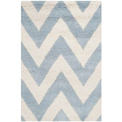 Safavieh Cambridge Caroline Light Blue / Ivory 3 ft. x 5 ft. Indoor Area Rug