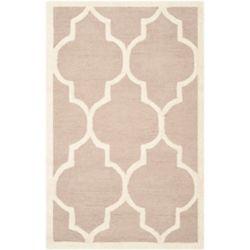 Safavieh Tapis d'intérieur, 3 pi x 5 pi, Cambridge Derek, beige / ivoire