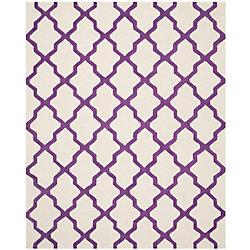 Safavieh Cambridge Giselle Ivory / Purple 8 ft. x 10 ft. Indoor Area Rug