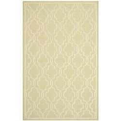 Safavieh Cambridge Helen Light Green / Ivory 4 ft. x 6 ft. Indoor Area Rug