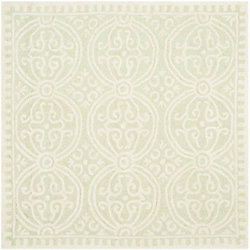 Safavieh Cambridge Jacob Light Green / Ivory 4 ft. x 4 ft. Indoor Square Area Rug