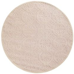 Safavieh Cambridge Jacob Light Pink / Ivory 4 ft. x 4 ft. Indoor Round Area Rug