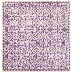 Safavieh Cambridge Jacob Purple / Ivory 8 ft. x 8 ft. Indoor Square Area Rug