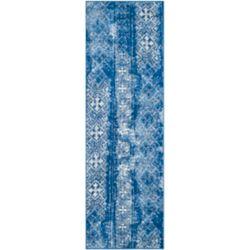 Safavieh Adirondack Carlie Silver / Blue 2 ft. 6-inch x 8 ft. Indoor Runner