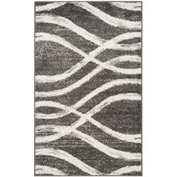 Safavieh Adirondack Gerald Charcoal / Ivory 3 ft. x 5 ft. Indoor Area Rug