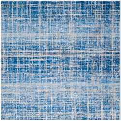 Safavieh Adirondack Janice Blue / Silver 4 ft. x 4 ft. Indoor Square Area Rug