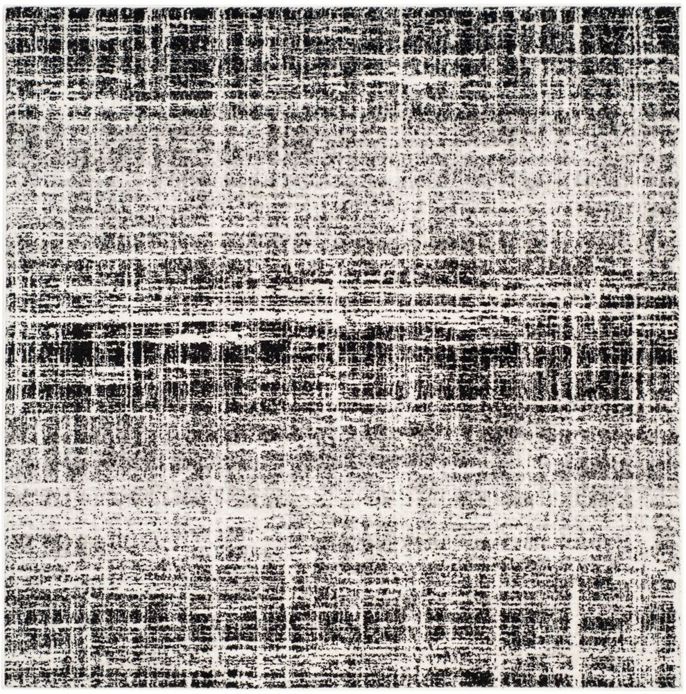 Safavieh Adirondack Janice Ivory / Black 6 ft. x 6 ft. Indoor Square Area Rug