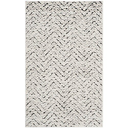 Safavieh Adirondack Kevin Ivory / Charcoal 2 ft. 6-inch x 4 ft. Indoor Area Rug