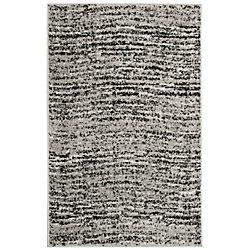 Safavieh Adirondack Leonard Black / Silver 2 ft. 6-inch x 4 ft. Indoor Area Rug