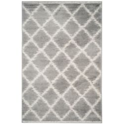 Safavieh Adirondack Lilly Silver / Ivory 6 ft. x 9 ft. Indoor Area Rug