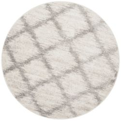 Safavieh Adirondack Modera Ivory / Silver 6 ft. x 6 ft. Indoor Round Area Rug