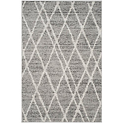 Safavieh Adirondack Toni Ivory / Silver 4 ft. x 6 ft. Indoor Area Rug