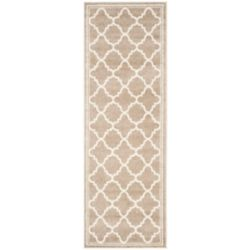 Safavieh Amherst Blanche Wheat / Beige 2 ft. 3-inch x 17 ft. Indoor/Outdoor Runner