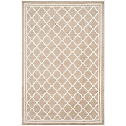Safavieh Amherst Blanche Wheat / Beige 6 ft. x 9 ft. Indoor/Outdoor Area Rug
