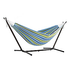 Double Oasis Hammock with Stand (9 ft. )