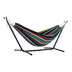 Double Rio Night Hammock with Stand (9 ft. )